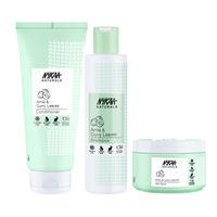 Nykaa Naturals Anti-hair Fall Shampoo, Conditioner, & Hair Mask Combo - Goodbye Hair Fall