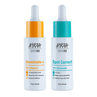 Nykaa SKINRX Skin Brightening Duo - 20% Vitamin C & 10% Niacinamide Face Serum