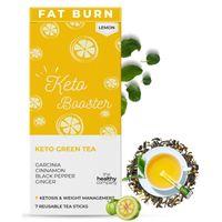 The Healthy Company - Weight Loss Keto Booster Green Tea - Lemon Flavor