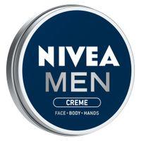 NIVEA Men Crème, Non Greasy Moisturizer, Cream for Face, Body & Hands