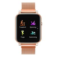 French Connection Unisex Touch Screen Smartwatch With Hrm & Smart Phone Notification -F1-D