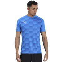 Puma Team Final 21 Graphic Jersey T-shirt - Blue
