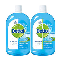 Dettol Menthol Cool Germ Protection Disinfectant Liquid - Pack of 2