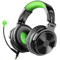 OneOdio Pro G Green Over Ear Headset with Mic Green