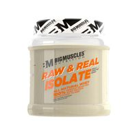 Big Muscles Nutrition Raw & Real Isolate Whey Protein Unflavoured Powder