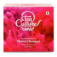Tea Culture of The World Flowery Bouquet Tea Sachets