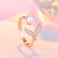 Ferosh Rosegold Mermaid Ring