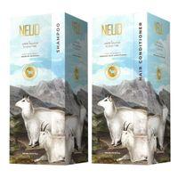 Neud Goat Milk Shampoo & Hair Conditioner Combo For Men & Women - Each 300ml