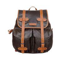 Justanned Men'S Vintage Leather Backpack