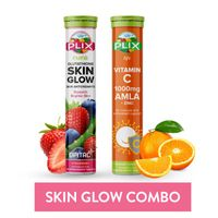 Plix Glutathione And Vitamin C Skin Glow Combo, Pack Of 2