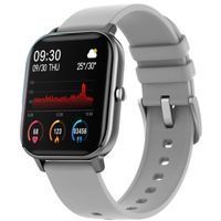 Fire-Boltt Spo2 Full Touch 1.4 Inch Smartwatch 8 Days Battery Ipx7 With Heart Rate, Bp, Fitness Grey