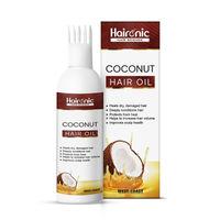 Haironic Hair Science Coconut Hair Oil For All Hair Types Promotes Healthy Hair Growth
