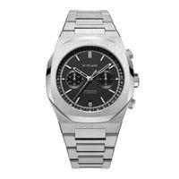 D1 Milano Matte Black Dial Watches For Men - Chbj08