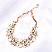 Ferosh Aurora Golden Statement Choker Necklace