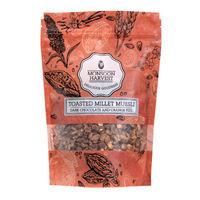 Monsoon Harvest Toasted Millet Muesli Dark Chocolate And Orange Peel