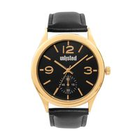 Unlisted by Kenneth Cole Analog Black Dial Men's Watch - 10031431