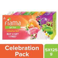 Fiama Gel Bar Celebration Pack (Buy 4 Get 1 Free)