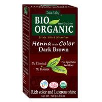 Indus Valley Bio Organic Henna Hair Colour Dark Brown