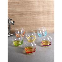 Bohemia Crystal Crystal Glass 6 Pieces, Transparent, 390ml