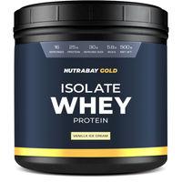 Nutrabay Gold 100% Whey Protein Isolate - Vanilla Ice Cream