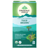 Organic India Tulsi Brahmi Tea (25 Infusion bag)