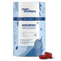 Man Matters Biotin Hair Gummies For Hair Growth With Multivitamin & Zinc
