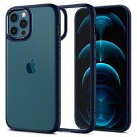 Spigen Ultra Hybrid Designed For Iphone 12 Pro Max Case Cover (2020) - Navy Blue