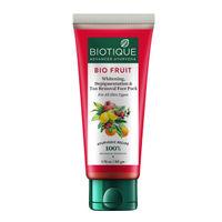 Biotique BIO Fruit Whitening & Depigmentation Tan Removal Face Pack