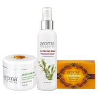 Aroma Treasures Premium Skin Care Kit for Oily Skin