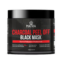 Matra Activated Charcoal Peel Off Black Mask