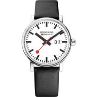 Mondaine Classic Date Analog Dial Color White Men's Watch- MSE.40210.LB
