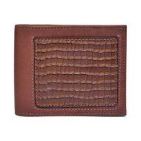 Belwaba Genuine Leather Tan Bi-fold Men's Wallet