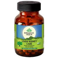 Organic India Liver-Kidney Care (60 Capsules)