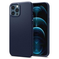 Spigen Liquid Air Designed For Iphone 12 / 12 Pro Case Cover (2020) - Blue