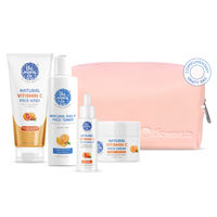 The Moms Co. Natural Vitamin C Complete Face Care Routine Kit