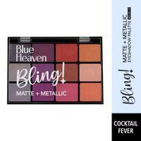 Blue Heaven 12-in-1 Bling Eyeshadow Palette - Cocktail Fever