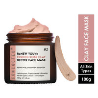 CONCOCTED Renew You'th French Rose Clay Detox Face Mask