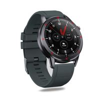 AQFIT W15 Fitness Smartwatch   Full Touch Screen Display (Grey)