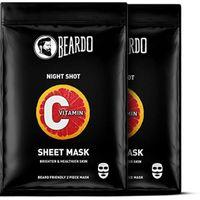 Beardo Vitamin C Brightening Sheet Masks For Bearded Men (Pack of 2)