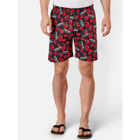 Free Authority Deadpool Featured Boxer For Men - Black