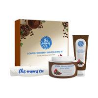 The Moms Co. Coffee Cranberry Skin Polishing Set