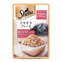 Sheba Premium Wet Cat Food Food- Fish Mix (Skipjack & Salmon)