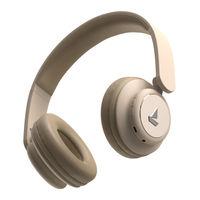 boAt Rockerz 450 N Wireless Headphone With Immersive Audio, 8H Playtime (Hazel Beige)