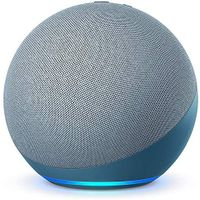 Amazon All-new Echo (4th Gen) | Premium sound powered by Dolby and Alexa (Blue)