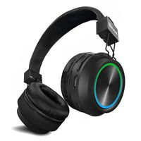 Flybot Alpha Wireless Ipx 5 Rating Over The Ear Bluetooth Headphone with Mic And Volume Controls