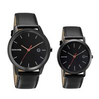 Sonata 713387029NL01 Black Dial Analog Watch For Couple