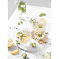 Uniglass Hills Juice Glass Set, 205ml, Set Of 6, Transparent