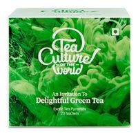 Tea Culture of The World Delightful Green Tea Sachets