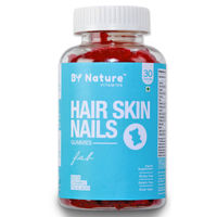 By Nature Fab Biotin Gummies with Vitamins for Hair, Skin, Nails