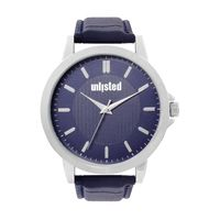 Unlisted by Kenneth Cole Analog Blue Dial Men's Watch - 10032042